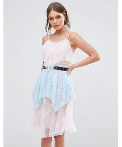 True Decadence | Кружевное Платье Миди