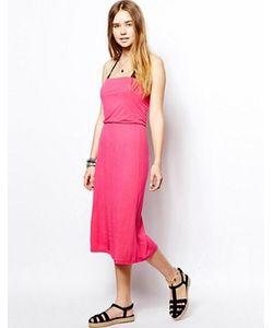 Marie Meili   Розовое Платье С 3 Способами Ношения Malibu