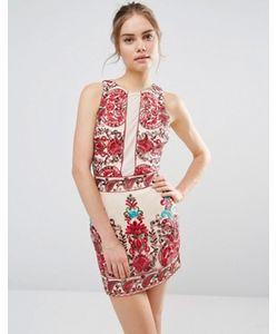 Endless Rose | Платье Без Рукавов С Вышивкой
