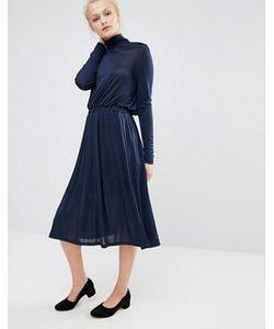 Vero Moda   Короткое Приталенное Платье С Высокой Горловиной