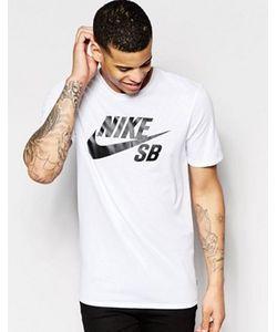 Nike SB   Белая Футболка С Логотипом 821946-100