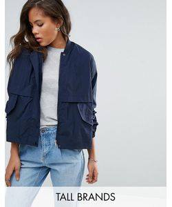 Vero Moda Tall   Легкая Укороченная Куртка-Рубашка