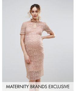Hope and Ivy Maternity | Кружевное Платье-Футляр Hope Ivy Maternity