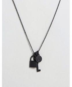 Chained & Able | Ожерелье С Подвесками
