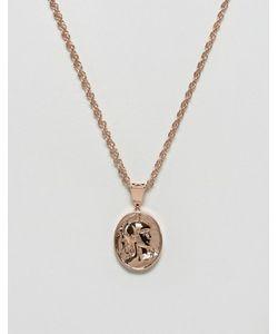 MISTER | Золотисто-Розовое Ожерелье Gladiator