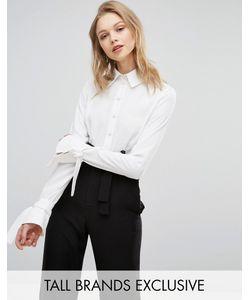 Alter Tall | Рубашка С Завязками На Рукавах
