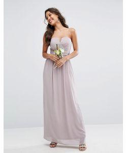 TFNC | Платье-Бандо Макси Wedding