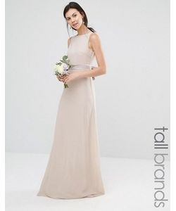 TFNC Tall | Платье Макси С Атласным Бантом Сзади Wedding