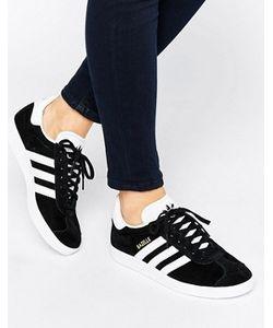 Adidas | Черные Замшевые Кроссовки Унисекс Originals Gazelle