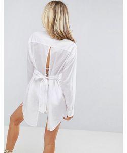 Asos | Пляжная Рубашка С Завязкой На Спине