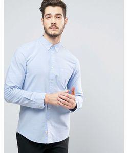 Jack Wills | Голубая Оксфордская Рубашка Классического Кроя Wadsworth
