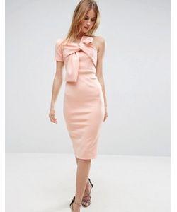 Asos | Платье Миди На Одно Плечо
