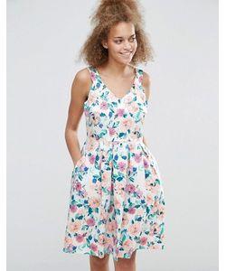 Sugarhill Boutique | Короткое Приталенное Платье С Цветочным Принтом Isadora