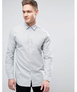 Jack & Jones | Длинная Рубашка С Начесом Premium