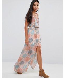 Pepe Jeans | Платье С Пальмовым Принтом