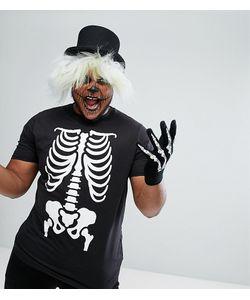 Duke | Футболка С Принтом Скелета Plus Halloween