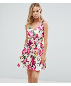 Miss Selfridge Petite | Платье Для Выпускного С Цветочным Принтом