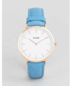 Cluse | Часы С Синим Кожаным Ремешком La Boheme