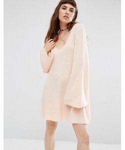 Rokoko | Свободное Вязаное Платье