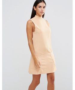 AX Paris | Цельнокройное Платье С Высокой Горловиной И Карманами