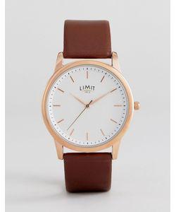 Limit | Часы С Коричневым Кожаным Ремешком Эксклюзивно Для