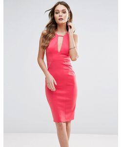 Lipsy | Облегающее Платье С Вырезом Капелькой