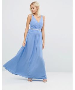 JARLO | Платье Макси С Глубоким Вырезом Cristobel