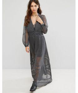 Religion | Свободное Платье Макси