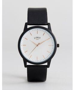 Limit | Часы С Черным Кожаным Ремешком Эксклюзивно Для