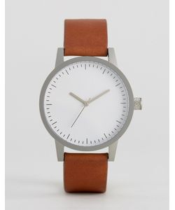 Simple Watch Company | Часы С Кожаным Светло-Коричневым Ремешком Swco Kent 38 Мм