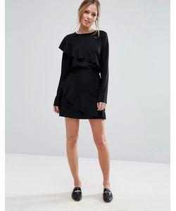 Vero Moda | Юбка С Асимметричной Оборкой
