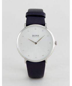 Hugo | Часы С Темно-Синим Кожаным Ремешком Boss By Boss 1502410 Jillian