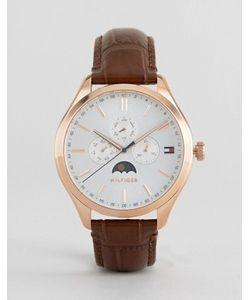 Tommy Hilfiger | Часы С Хронографом И Кожаным Ремешком Oliver