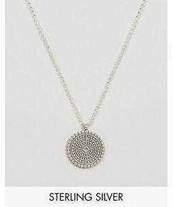 Dogeared | Серебряное Ожерелье С Подвескоймандала Reminder
