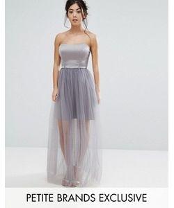 True Decadence Petite | Платье На Тонких Бретельках