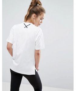 Adidas | Прямая Футболка Xbyo