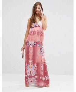 Lavand. | Платье Макси С Цветочным Принтом Lavand