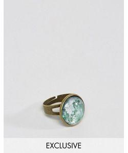 Reclaimed Vintage | Золотистое Кольцо С Камнем