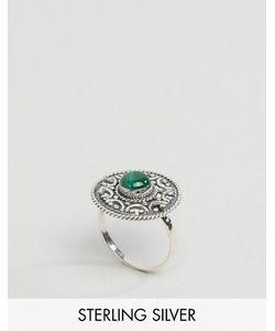 Regal Rose | Серебряное Кольцо С Малахитом Balula