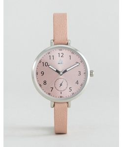 Asos | Часы С Большим Циферблатом И Узким Ремешком