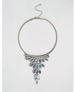 DesignB London | Броское Ожерелье-Воротник С Камнями Designb