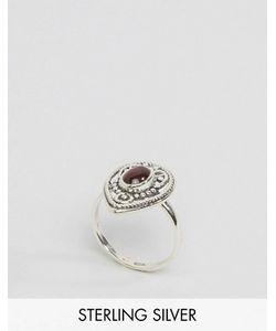 Regal Rose   Серебряное Кольцо С Красным Камнем Khalida