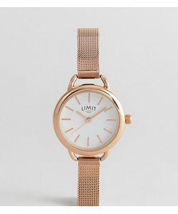 Limit | Часы С Сетчатым Браслетом И Розово-Золотистым Покрытием Эксклюзивно Для