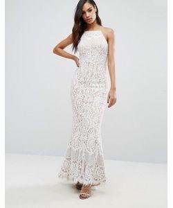 JARLO   Кружевное Платье Макси Ariel