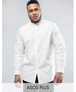 Asos | Рубашка Классического Кроя На Пуговицах Plus