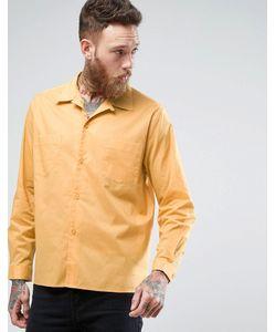 Asos | Рубашка Классического Кроя С Отложным Воротником