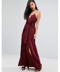 Style Stalker | Платье Макси На Одно Плечо С Высоким Разрезом Stylestalker