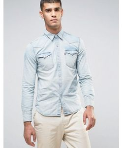 Levi's® | Светлая Рубашка В Стиле Вестерн С Накладками Levis Barstow