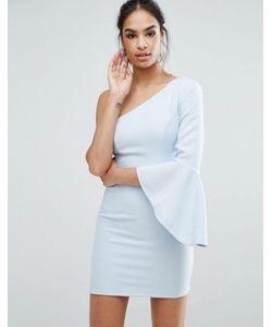 Ginger Fizz | One Shoulder Mini Dress