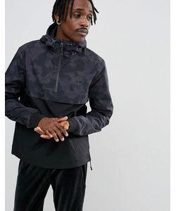 Timberland   2-Цветная Куртка С Капюшоном Камуфляжный Принт
